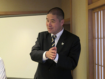 株式会社今治.夢スポーツ(FC今治)取締役矢野将文  様