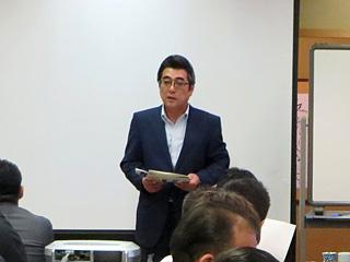 加藤マネージャー挨拶
