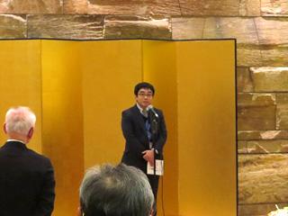 愛媛県経済労働部産業支援局長 関口訓央様のご挨拶