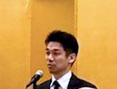 ANIA事務局長 須山洋生様による乾杯